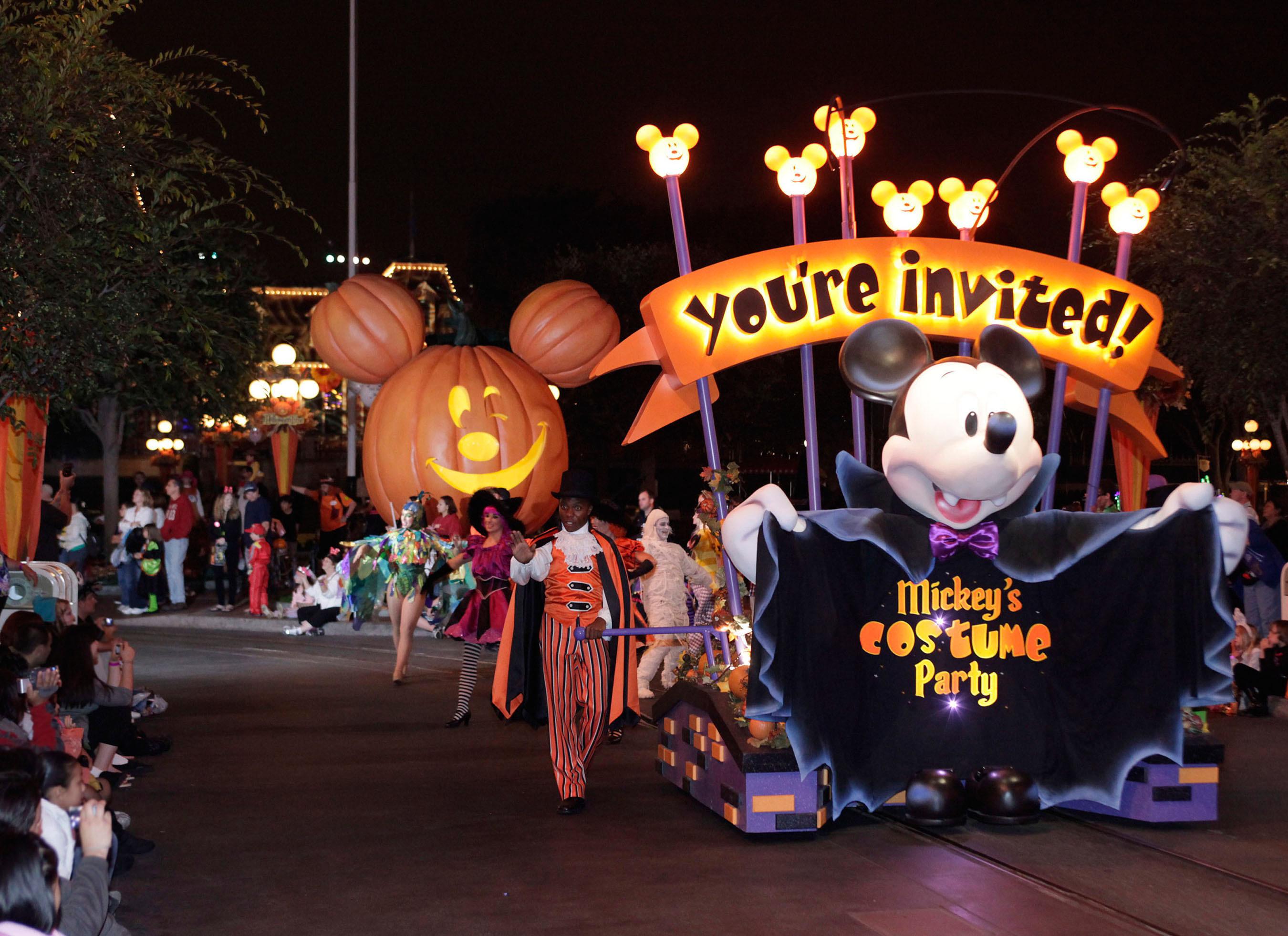 Disneyland Resort Celebrates Halloween time 2013, Friday the 13th ...