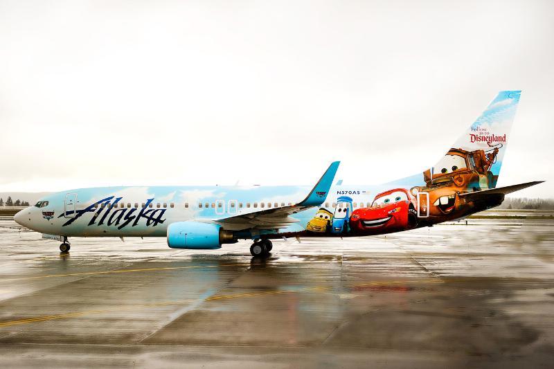 ALASKA AIRLINES DISNEY
